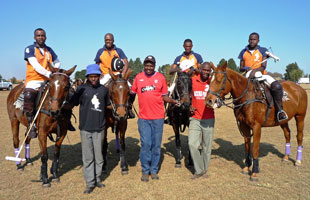 poloafrica team and grooms